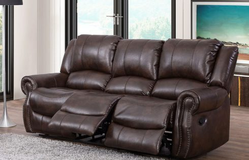 Turner Triple Reclining Fabric Sofa $699 was $999