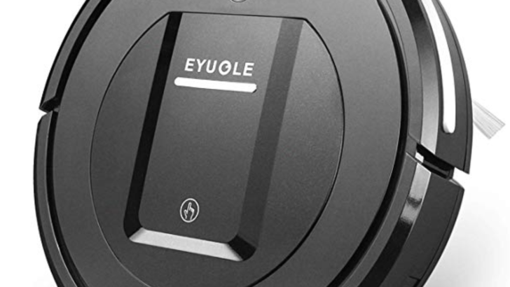 EYUGLE Robotic Vacuum Cleaner w/HEPA Filter Good for Pet Hair $50 was <strike>$99</strike>