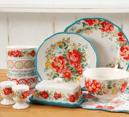20-Piece Floral Dinnerware Set 50% off $29