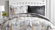 Paris Gold 6-Pc. Reversible Twin Comforter Set $29