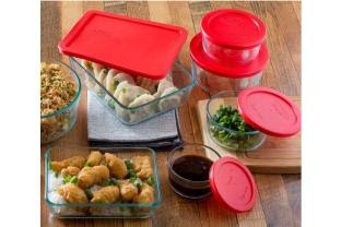 pyrex storage sets from $4